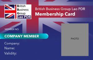 BBGL Company Membership Card