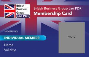 BBGL Individual Membership Card